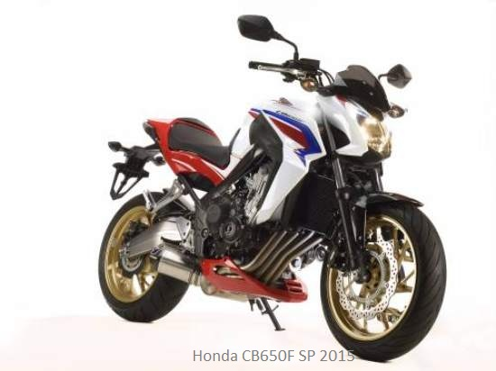 New 2015 Honda CB650F SP Motorcycles