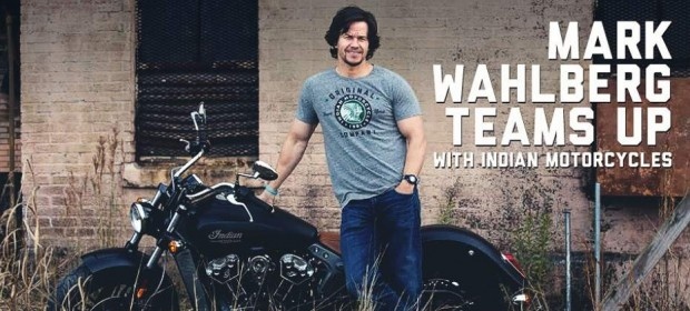 Indian Motorcycles Joint Venture With Mark Wahlberg