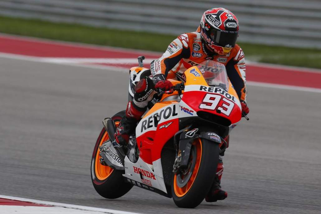 Marc Marquez has Perfect Career in MotoGP Austin 2015