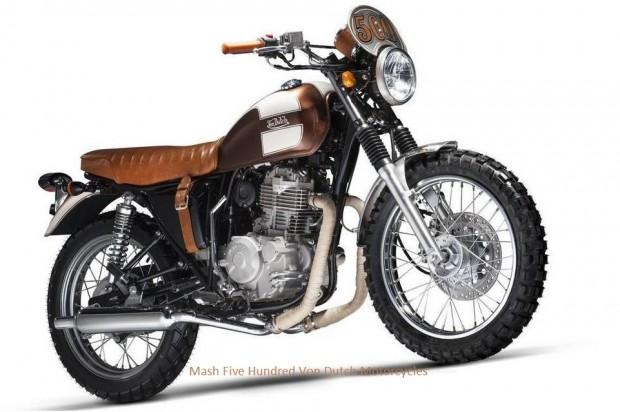 Mash Five Hundred Von Dutch Motorcycles