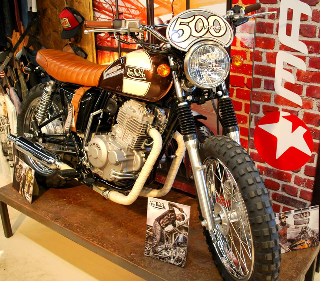 Mash Five Hundred Von Dutch Motorcycles