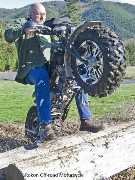 Rokon Motorcycle Custom Built Desert Bike