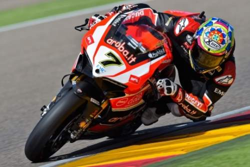 SBK Aragon: Rea and Davies in Spain Championship