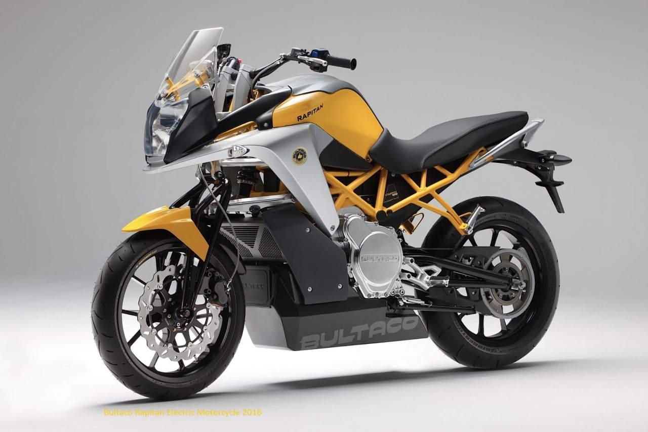 New Bultaco Rapitan Electric Motorcycles 2016