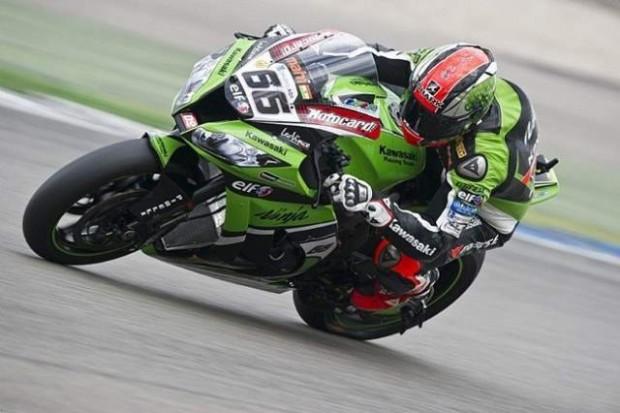 SBK Donington Park Race 12015 Tom Sykes on Top