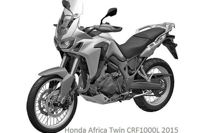 Honda Africa Twin CRF1000L 2015 Advance