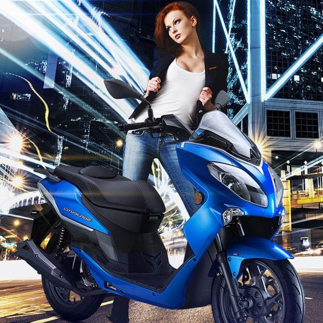 Cityblade Keeway 125 Scooter 2015