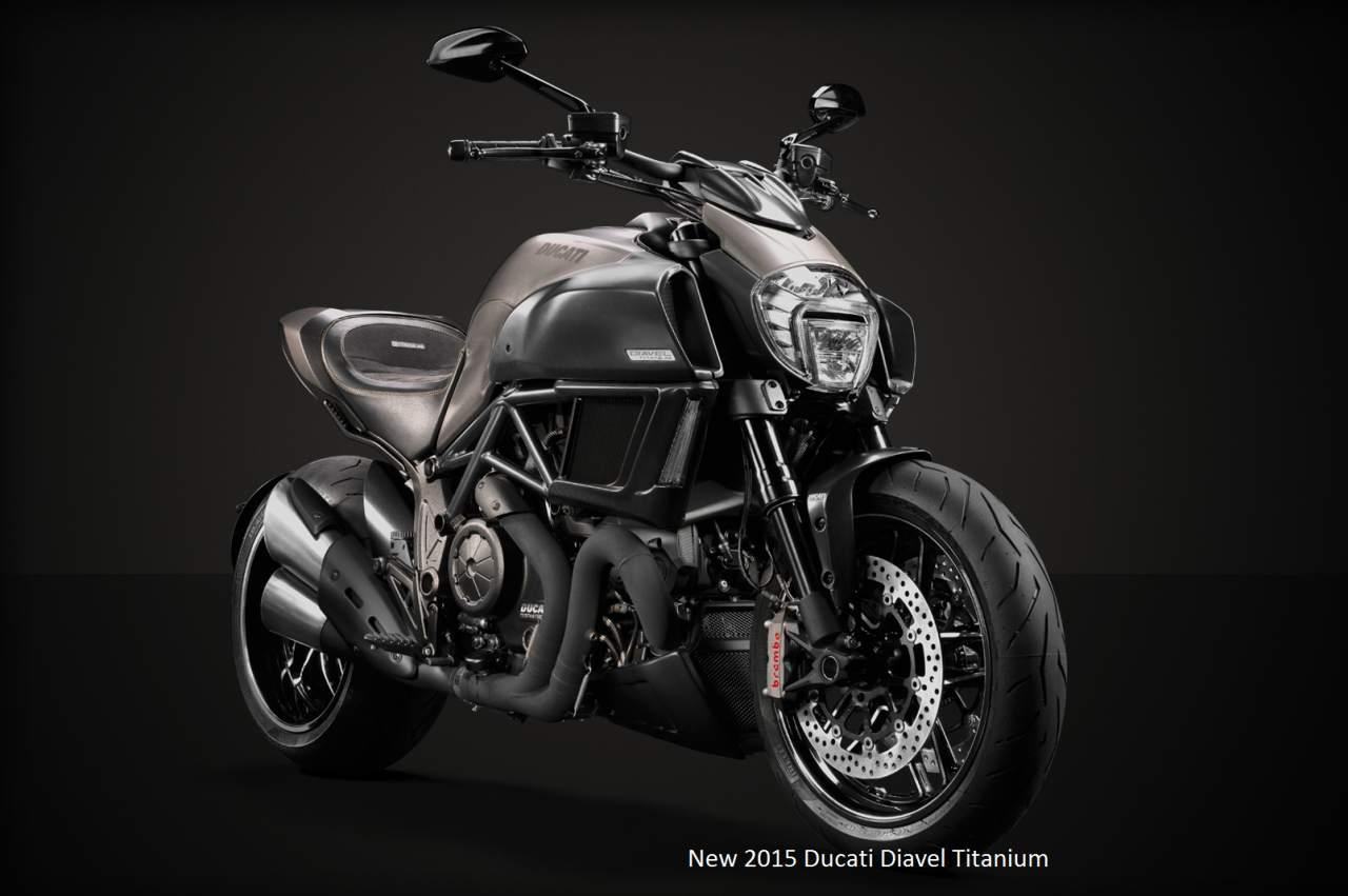 Ducati Diavel Titanium Motorcycles 2015