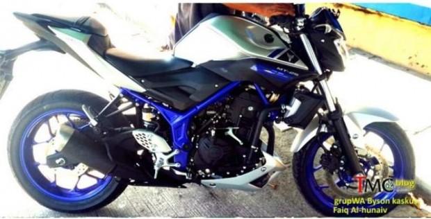 Yamaha MT-25 seen in Indonesia