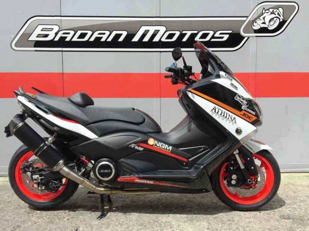 Yamaha T-Max 530 NGM Forward Racing for Loris Baz by Badan Motos