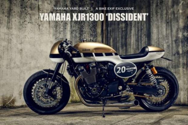 Yamaha XJR1300 Dissident Built Yard