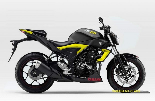 Yamaha MT-25 World's Best Motorcycles 2015