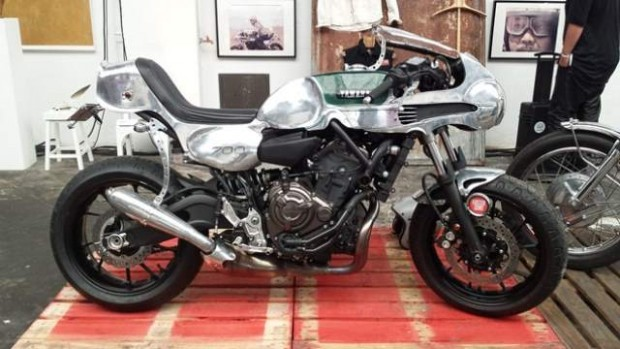 Built Yard MT-07 Yamaha A Excellent Bike