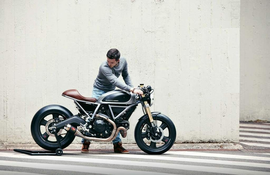 Ducati Scrambler Hero 01 by Holographic Hammer