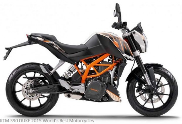 KTM 390 DUKE 2015 World's Best Motorcycles