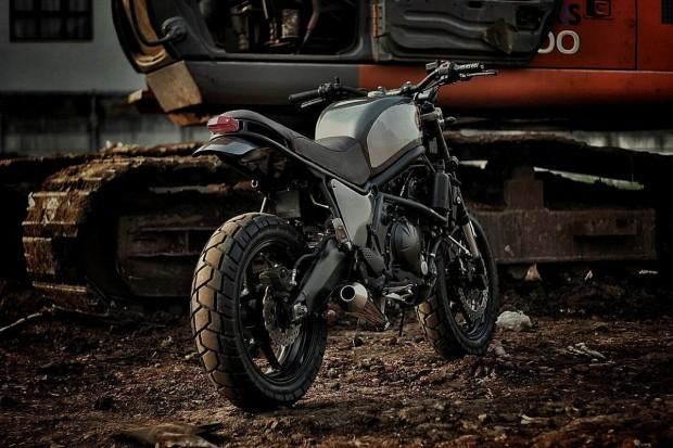 Kawasaki Versys 650 Scrambler Bike 2016 By Studio Motor