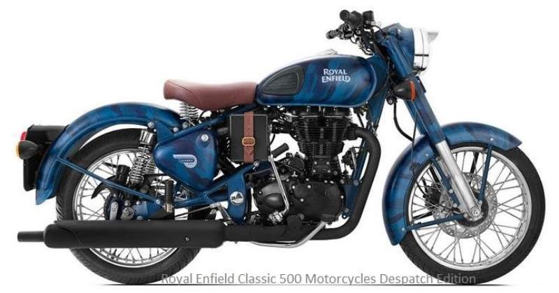 Royal Enfield Classic 500 Motorcycles Despatch Edition
