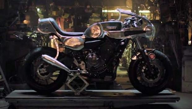 Yamaha Building his Dreams Faster Sons bike