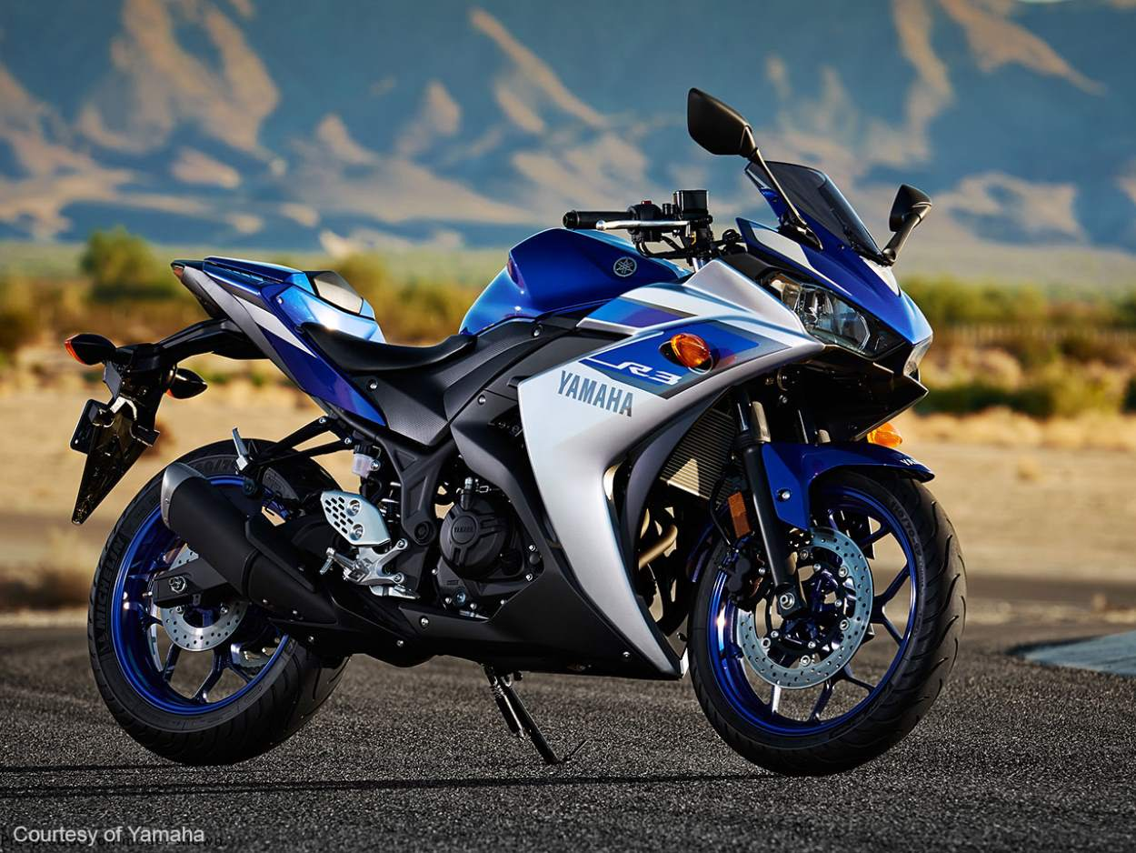 Yamaha R3 2015