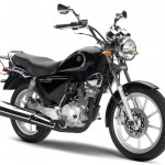 The Yamaha YBR-125 is heavily comfort. The statement handlebar and generously padded saddle dug, provide the pilot with a comfortable driving position.