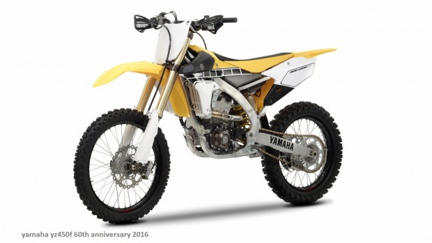 2016 Yamaha YZ450F & YZ250F 60th Anniversary