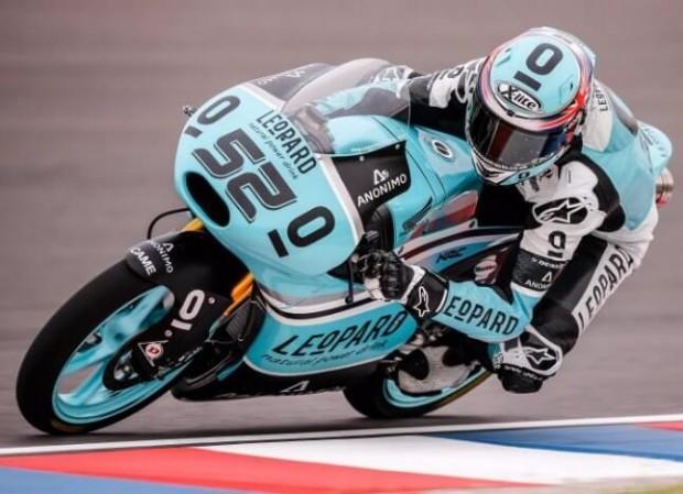 Germany 2015 Moto3 Race Danny Kent Ahead