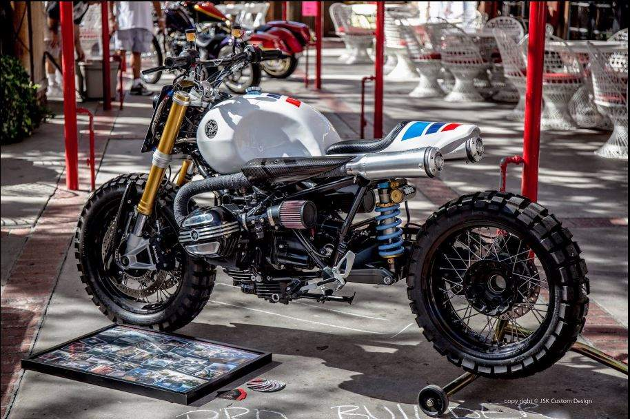 BMW R nineT Scrambler by JSK Custom Design