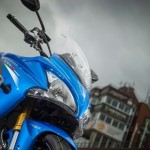 Suzuki GSX 1000 F-S Test full power on the Isle of Man