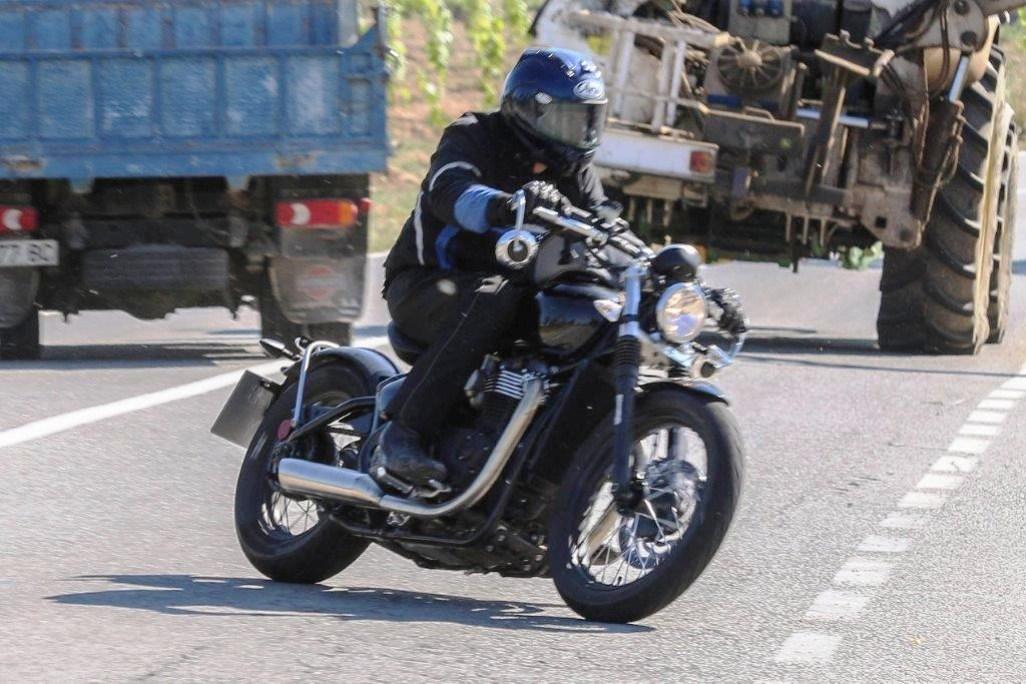 Triumph Bike A Factory Bobber 2017