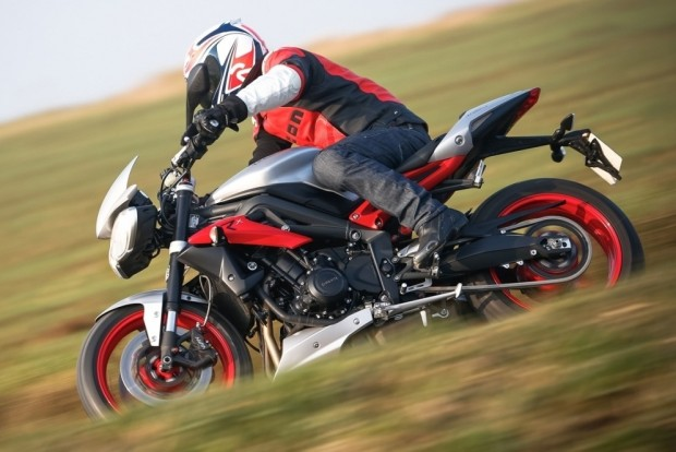 Triumph Street Triple RX Test & Review