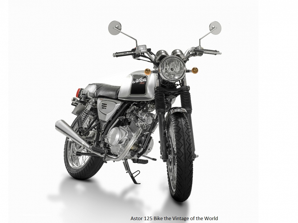 Astor 125 Bike the Vintage of the World