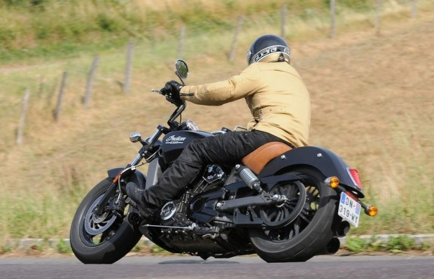 Indian Scout Back to the Future Review