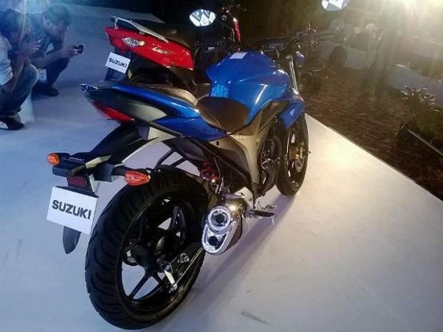 Suzuki Gixxer SF Motorcycle in the World 2015