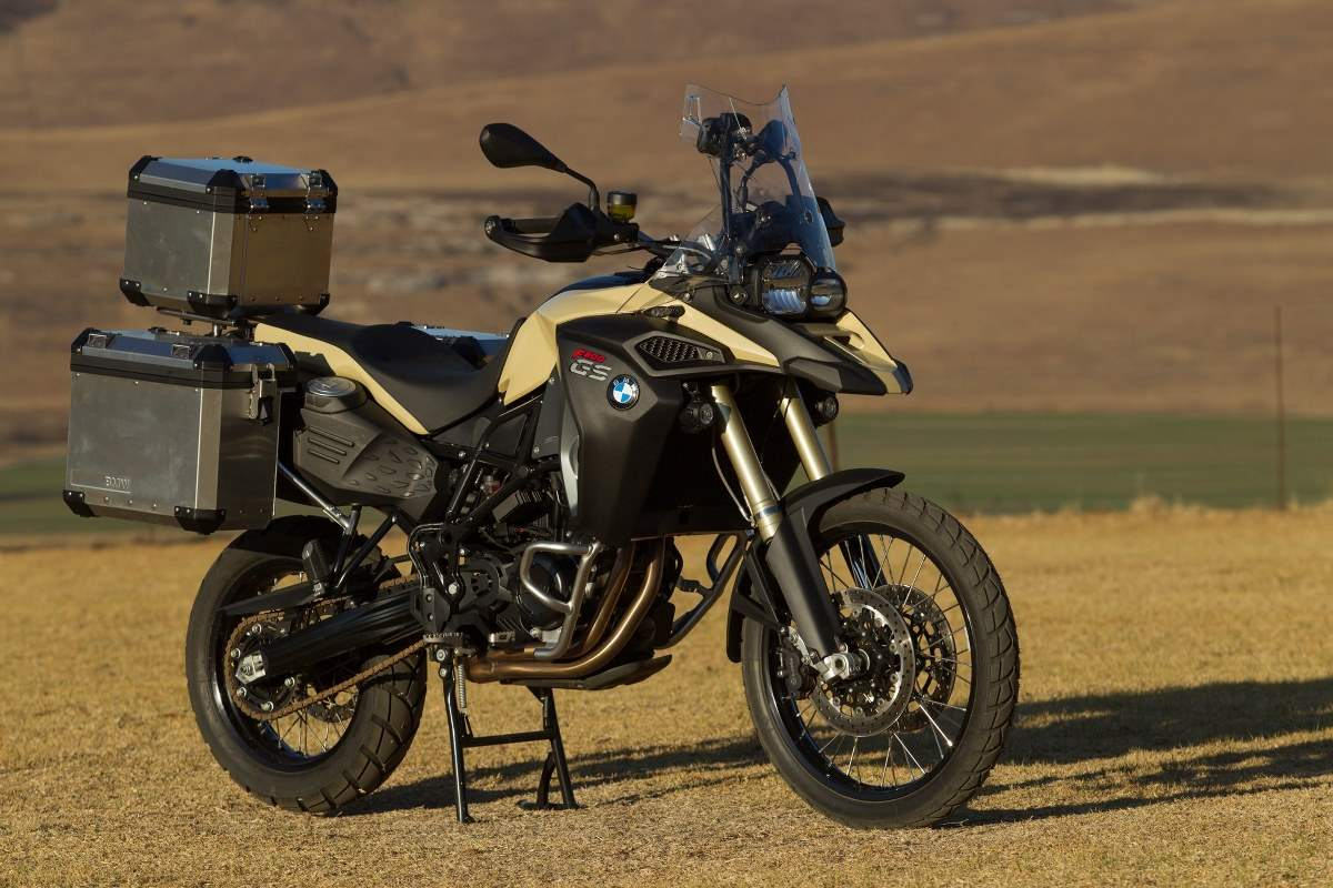 NEW BMW F 800 GS ROCKS ADVENTURE 2015