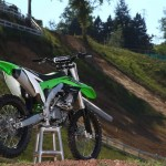 Kawasaki KX 450 F 2016 Green Smoothness Test