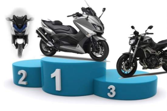 Top 25 motorcycles sales 2015