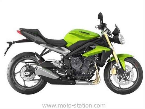 Triumph Street Triple 800, Speed Triple and Tiger Explorer 2016 Fully Equipped