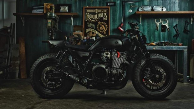Built Yard Yamaha XJR1300 Guerilla Four A World Cruise Bike