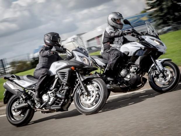 Duel Kawasaki Versys 650  vs Suzuki V-Strom 650 XT