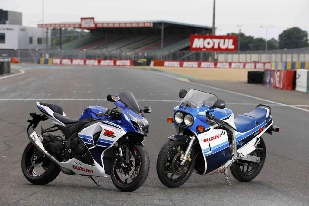Suzuki GSX-R Motorcycle 24 History of 30 Years