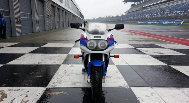 Suzuki GSX-R 750 Model 1992 Test 2015