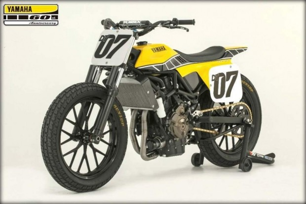 Yamaha DT-07 Flat Track Concept 2016