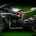 Kawasaki SC01 Spirit Charger Concept Engine 2016