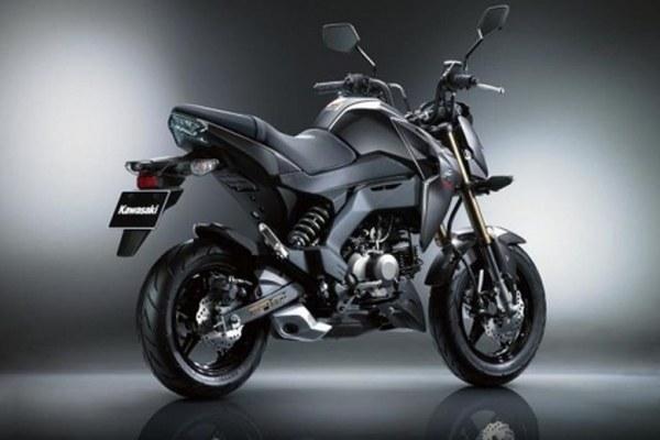Kawasaki Z125 on the Tokyo Motor Show for Europe