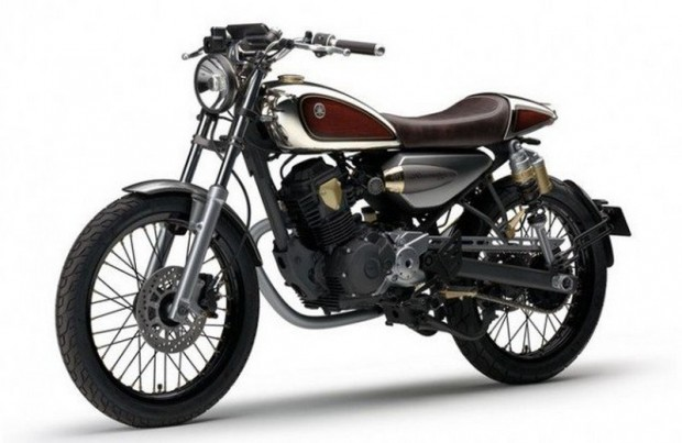 Yamaha Guitars Recycled Wood for a Motorcycle
