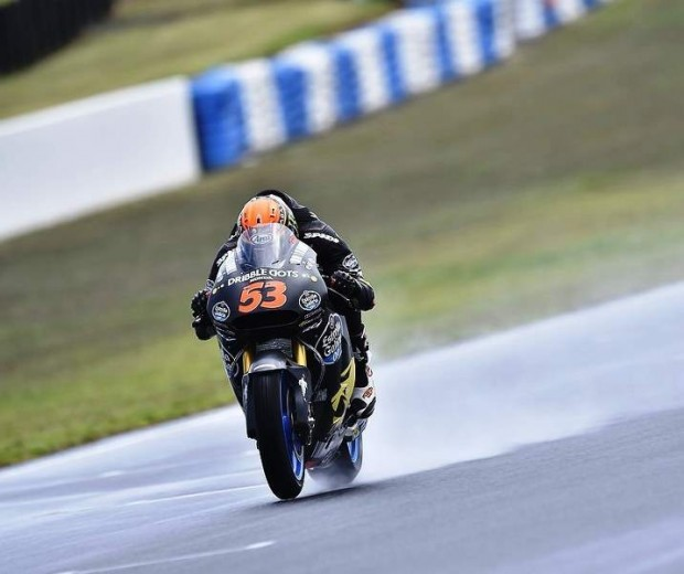 MotoGP  J1-Test pilot Reactions at Phillip Iceland