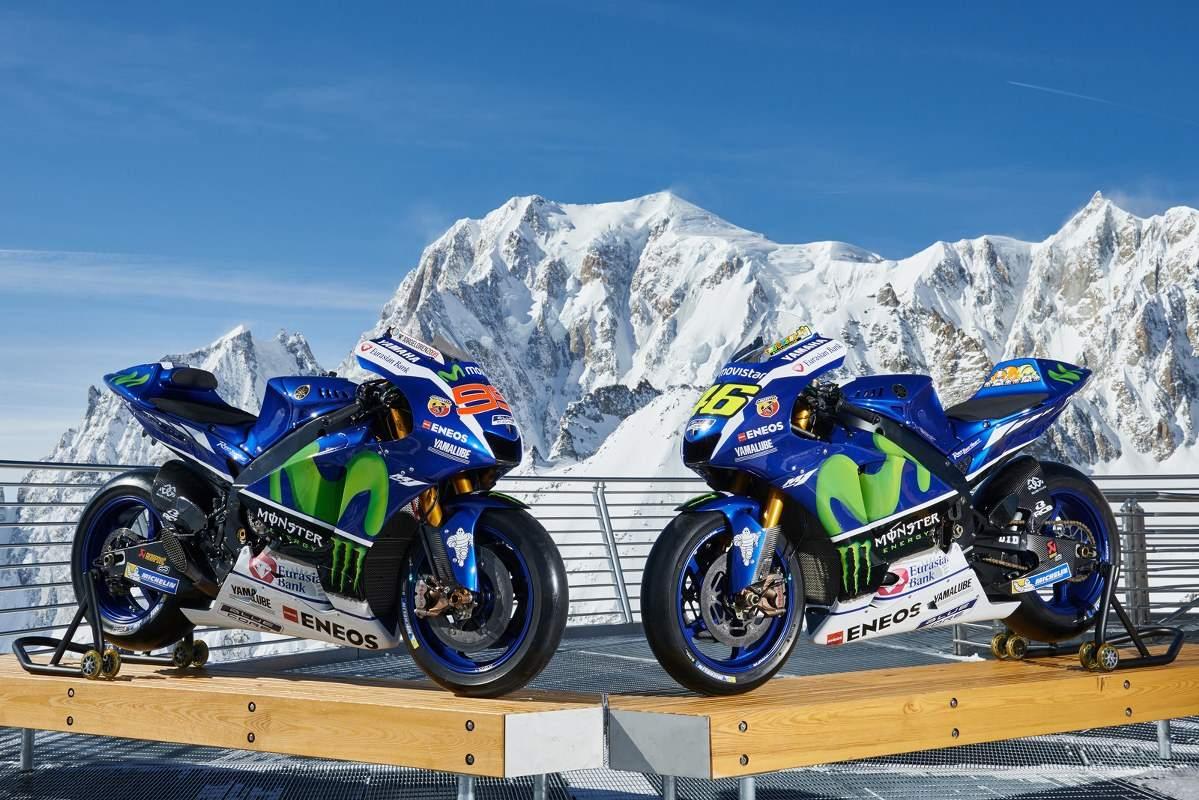 Yamaha M1 Part to Skiing 2016