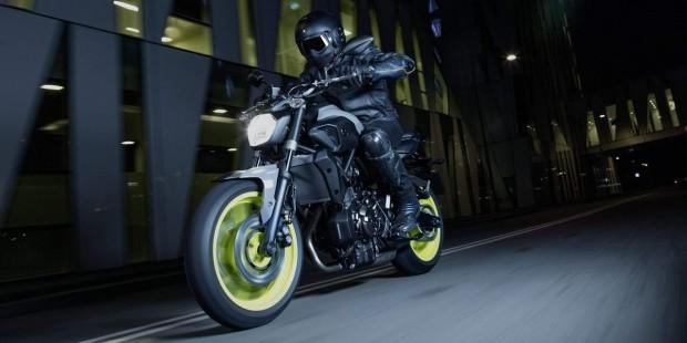 Yamaha MT-07 Night Fluo New Look 2016
