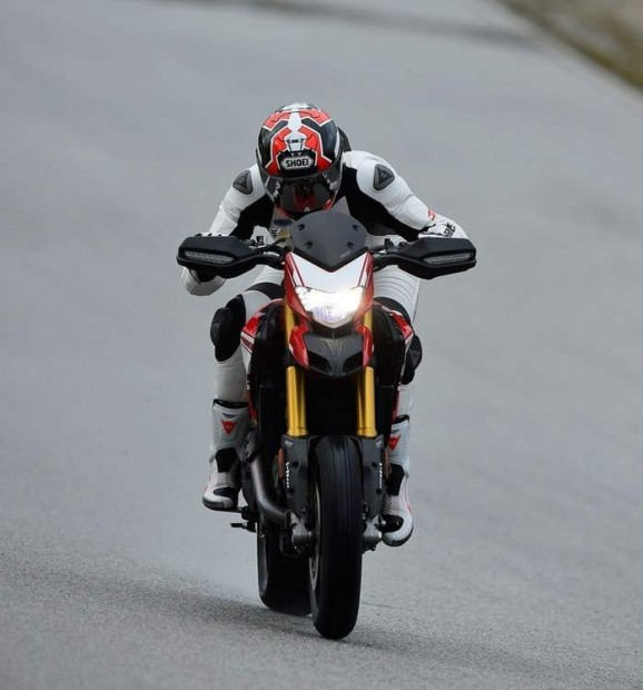 Ducati Hypermotard 939 with SP Tech Proven Test
