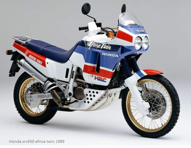 Honda xrv650 africa twin 1989